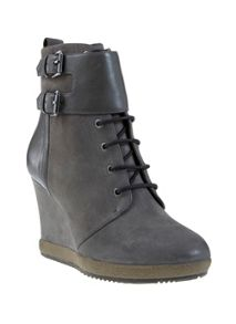 Charcoal Letty Wedge Boot