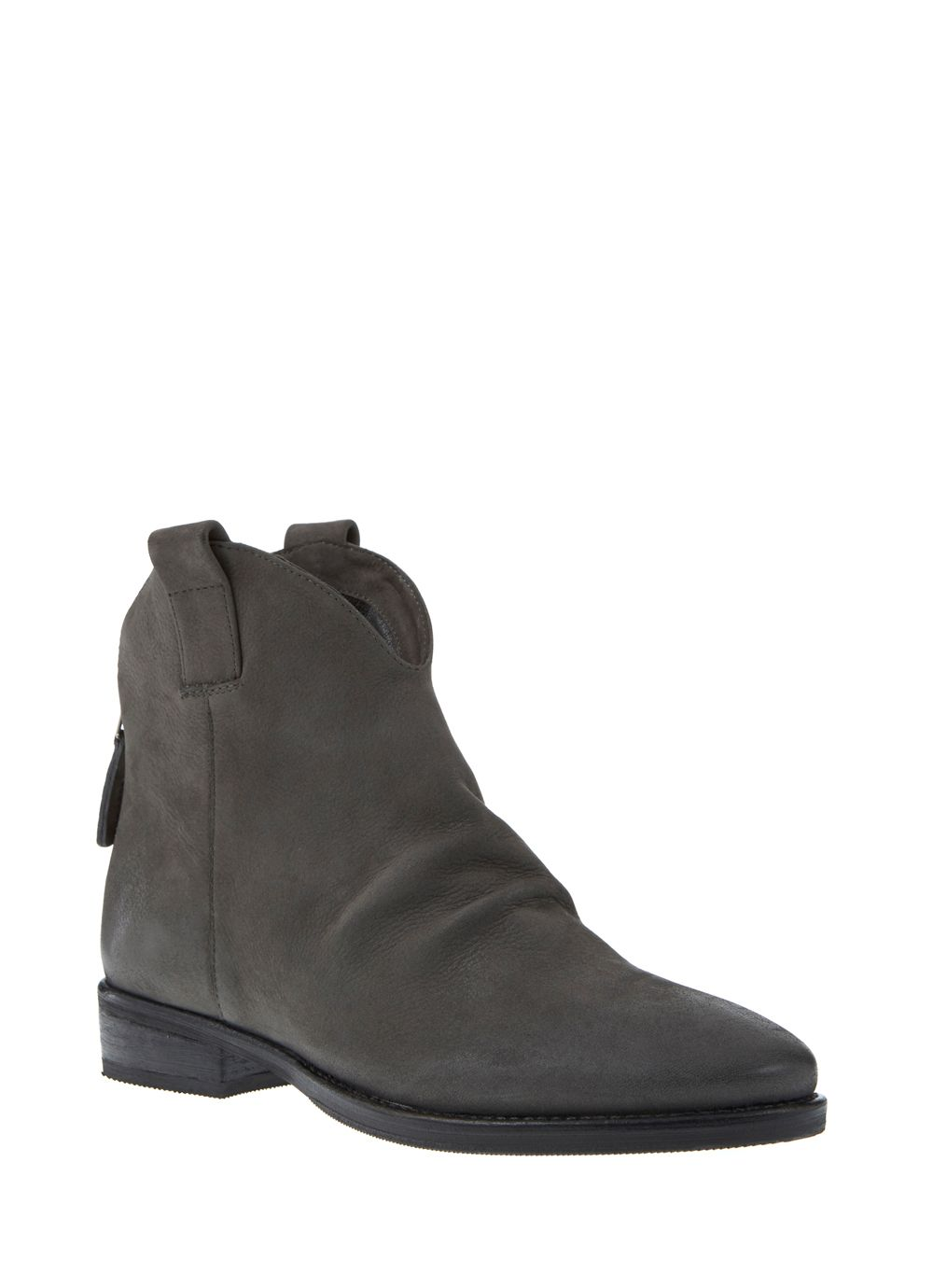 Charcoal Amy Nubuck Boot