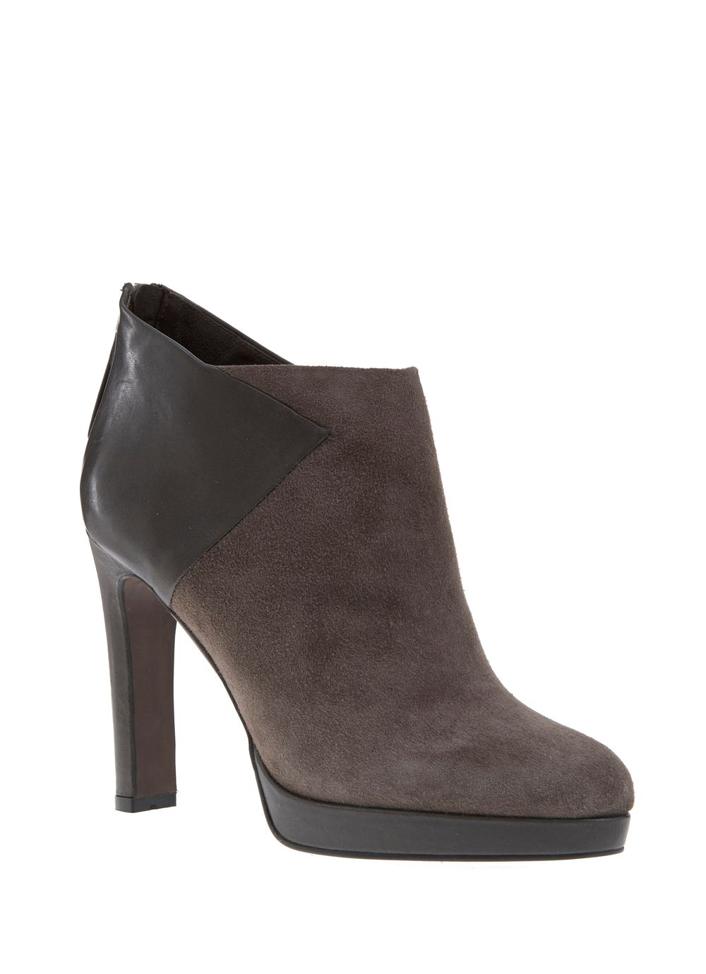 Grey Lenni Blocked Boot