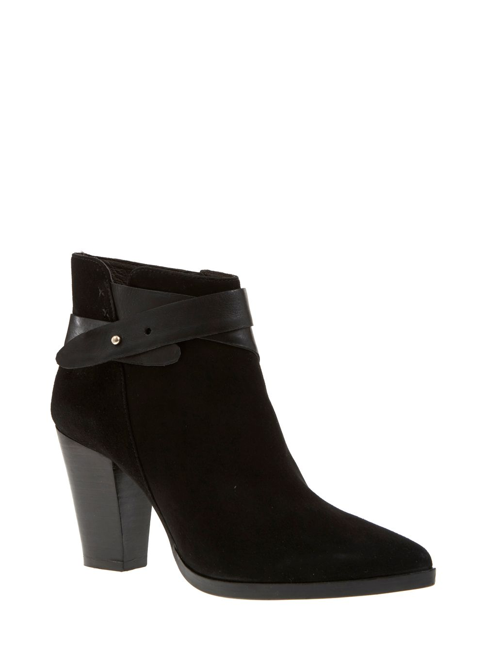 Black Lexi Pointed Boot