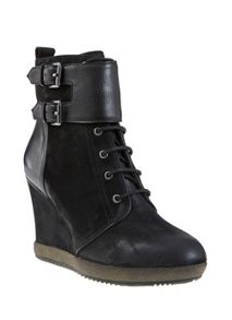 Black Letty Wedge Boot