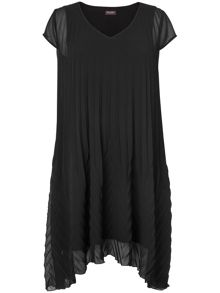 Sandrine pleated dress
