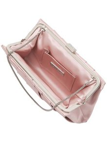 Eva satin clutch bag