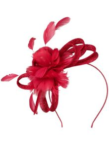 Tiffany fascinator