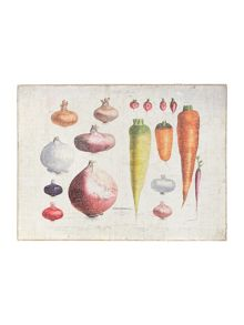 Vegetable wall art