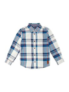 Boys jumbo check shirt with pockets