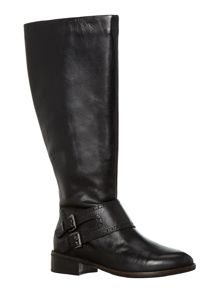 Grady knee high flat riding boot