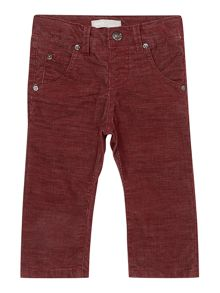 Boys regular fit cord trouser
