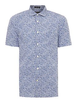 Whitney Short Sleeve Floral Print Shirt
