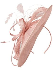 Lorna disc fascinator