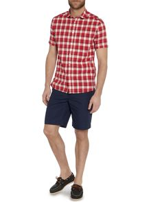 Appleton gingham short sleeve shirt
