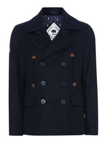4 pocket pea coat