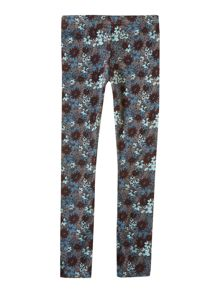 Girls all over floral print legging