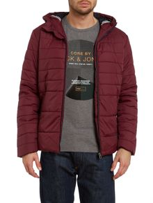 Boom hooded padded jacket