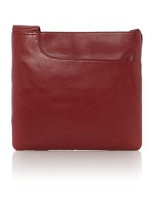 Pocketbag large leather crossbody bag
