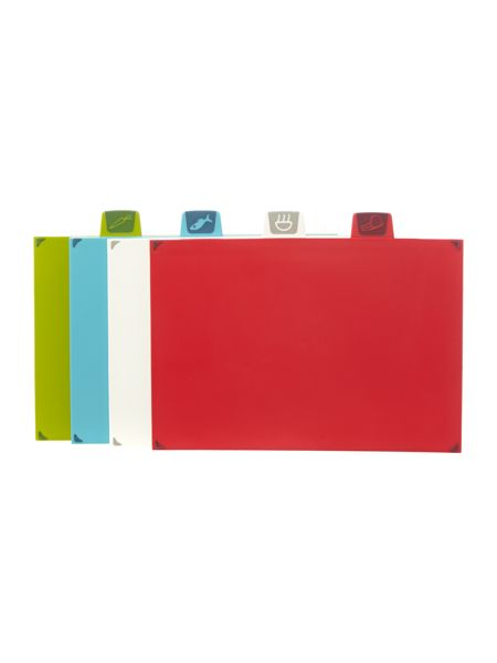 Joseph Joseph Index Chopping Board Set, Large - Graphite