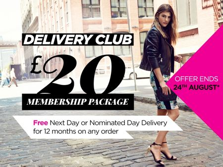 House of Fraser £20 Next/Named day delivery 12 months