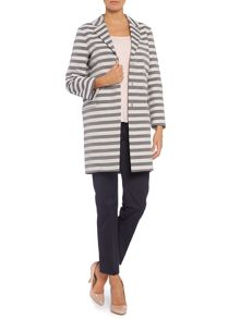 Max Mara Rovo striped rain mac