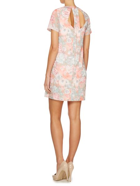 Untold Shift dress with floral print