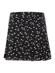 Penelope patterned skirt