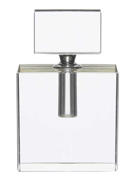 Pied a Terre Glass perfume bottle square