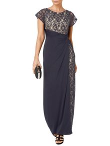 Raquel lace maxi dress