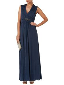 Constanza embellished maxi dress