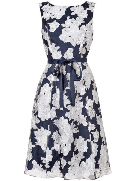 Phase Eight Norma floral burnout dress
