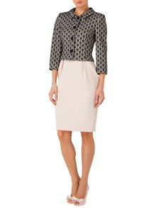 Verina bonded lace jacket