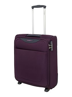 Base Hits purple 2 wheel cabin suitcase