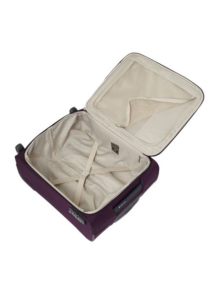Samsonite Base Hits purple 2 wheel cabin suitcase