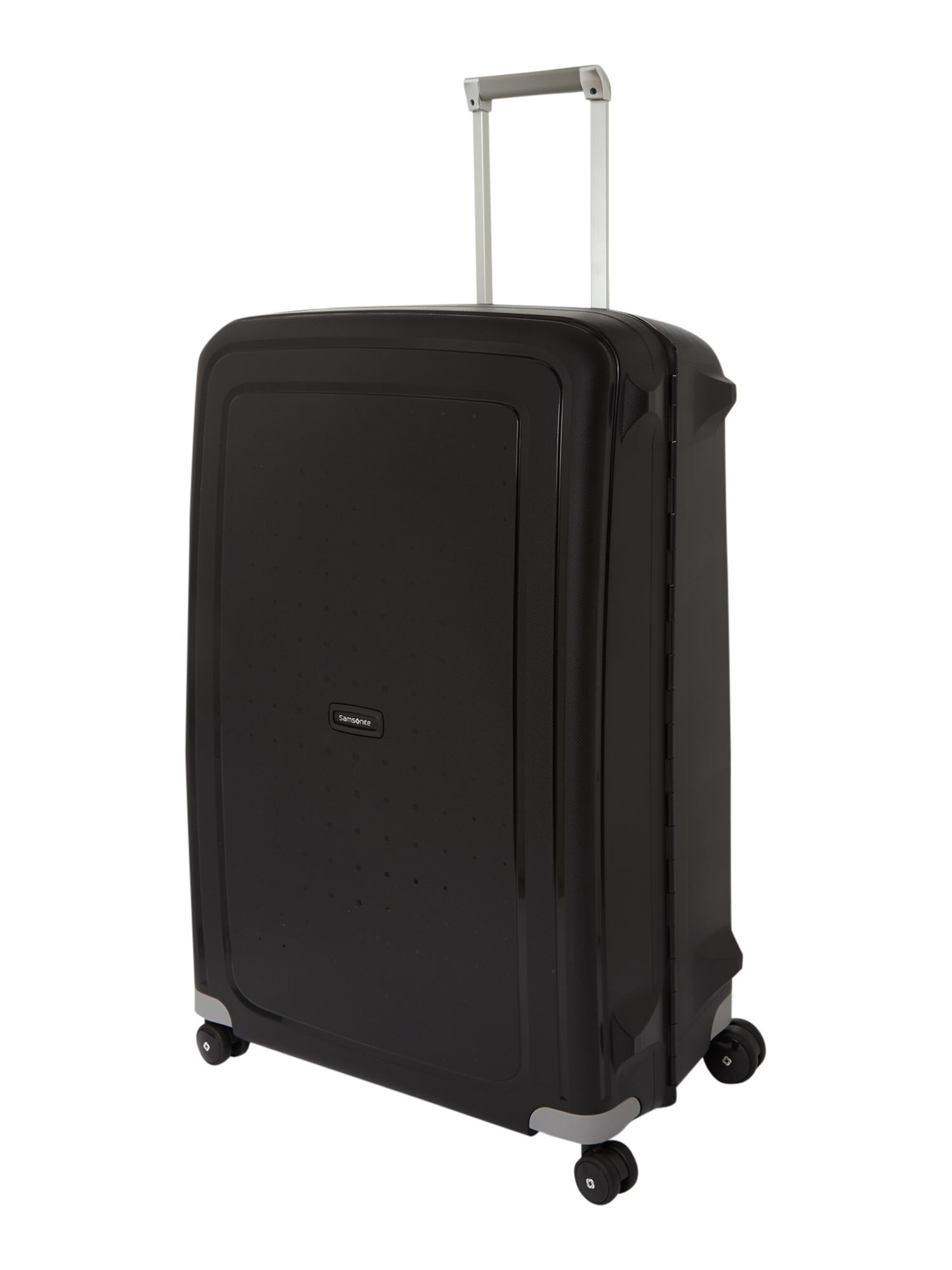 Samsonite S`Cure black 8 wheel 81cm extra large suitcase Black