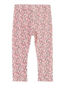 Girls ditsy print leggings
