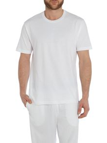 Two pack plain nightwear t-shirts short sleeved