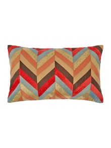 Chevron design cushion