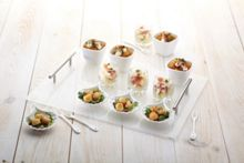 Kitchen Craft 17 Piece Glass Appetiser Gift Set.