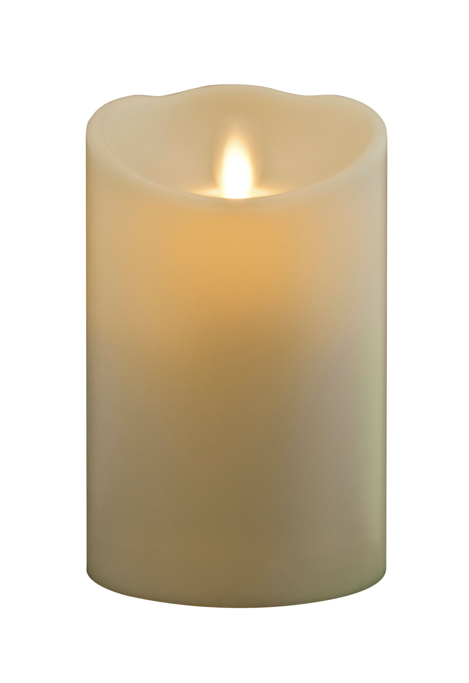 Image of Luminara Small Flameless Pillar Candle in Ivory