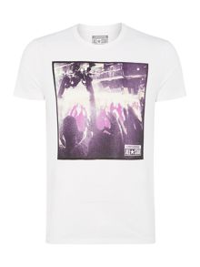 Concert photo graphic t shirt