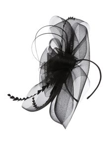 Zara Feathers and Crin Large Headpiece