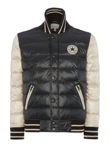 Quilted basebell jacket
