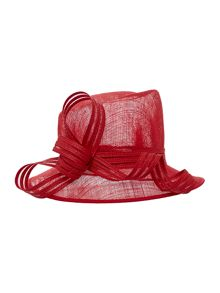 Elizabeth Small Brim Hat With Striped Loop
