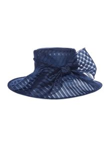 Untold Mary Organza Stripe Hat