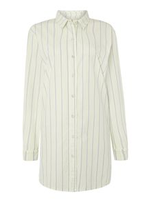 Yarn Dyed Stripe Nightshirt