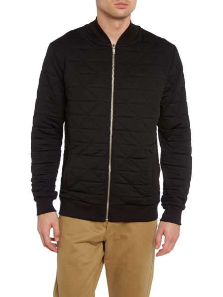 Systvm Quilted zip up jacket