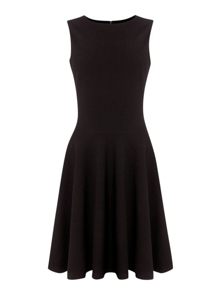 Pied a Terre Fit and Flare Sleeveless Dress
