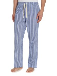 Stripe poplin sleep pant