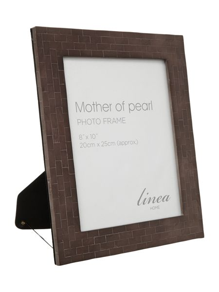 Linea Black Mother Of Pearl Photo Frame 8x10