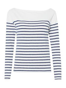 Polo Ralph Lauren Long sleeved striped top