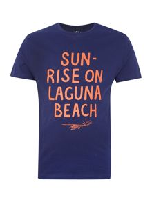Criminal Laguna Beach printed t-shirt