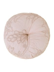 Shabby Chic Soft pink voile cushion